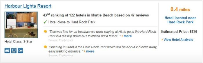Hotels nearby Hard Rock Park